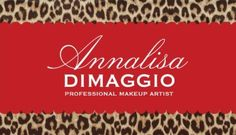 Stylish Brown Leopard Print Red Stripe Professional Makeup Artist Business Cards http://www.zazzle.com/new_jersey_love_business_cards-240103452310775853?design.areas=%5Bbusiness_front_horz%2Cbusiness_back_horz%5D&rf=238835258815790439&tc=GBCAnimal1Pin
