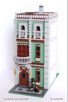 La casa di ricco mercante