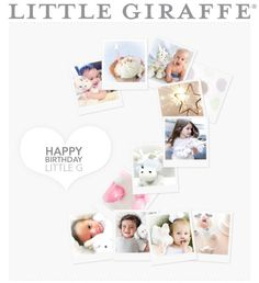 HUGE Giveaway from Little Giraffe in honor of Little G turning two!
