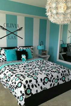 Painting walls kids girls fun 43 ideas - All For Decorations Blue Bedroom, Bedroom Sets, Bedroom Wall, Girls Bedroom, Bedroom Decor, Room Wall Painting, Luxurious Bedrooms, Luxury Bedrooms, Contemporary Bedroom