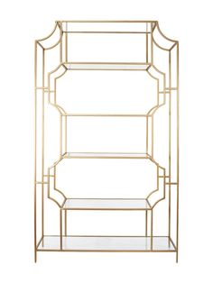 Calvin Etagere from Top Sellers: Furniture & Accents on Gilt