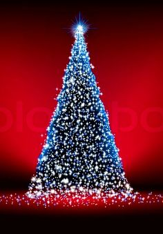 Red And Blue, Christmas Tree, Holiday Decor, Teal Christmas Tree, Xmas Trees, Christmas Trees, Xmas Tree