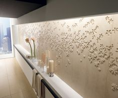 large format wall tile, made in Italy, very lovely.