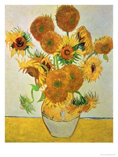 Vase of Fifteen Sunflowers, c.1888 Giclee Print by Vincent van Gogh