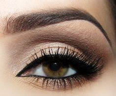 """Just a little glamour can go a long way. A few years ago a good friend taught me how to do a great """"smokey eye."""" A smokey eye is a make up term that is used to describe someone's eye shadow on a su… Pretty Makeup, Love Makeup, Makeup Inspo, Makeup Inspiration, Beauty Makeup, Beauty Tips, Style Inspiration, Kiss Makeup, Hair Makeup"""