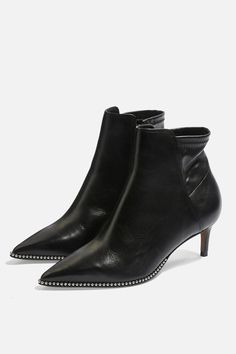 02b7d848aa1 Carousel Image 0 Black Ankle Boots, Strappy Sandals, Shoe Boots, Carousel,  Topshop