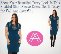 Plus Size Dress Dublin Short Sleeve Dresses, Dresses With Sleeves, Dublin, Size Clothing, Plus Size Outfits, That Look, Curvy, Clothes, Beautiful