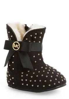 sweet Michael Kors crib shoes