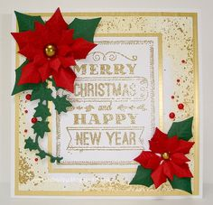 Mrs B's Blog: Chalkboard Christmas Greeting - Lili of the Valley DT