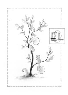 I like the position and whimsical nature of these squirrels. The way one squirrel is facing down toward the other is perfect. I would prefer a closeup of one branch with a wider tree trunk though for the save the dates than this tiny sapling.