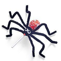 Lollipop spider.  #Halloween