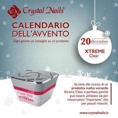 Calendario dell'avvento Crystal Nails - 20 dicembre #xtremeclear #crystalnails