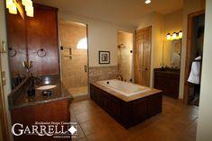 Garrell Associates, Inc.Hot Springs Cottage House Plan # 11063 Master Bath, Design by Michael W. Garrell