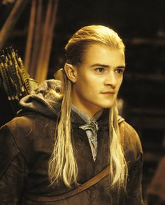 Legolas Greenleaf was an Elf who was part of the Fellowship of the Ring in the Third Age. He is the son of the Elf-king Thranduil of Mirkwood, a Prince of the Woodland Realm (Mirkwood), a messenger, and a master bowman. With his keen eyesight, sensitive hearing, and excellent bowmanship, Legolas is a valuable resource to the other eight of the Fellowship. Legolas became great friends with the dwarf Gimli , despite their long held differences, who was also a member of the Fellowship.