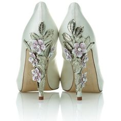 Exclusive Harriet Wilde bridal shoe collection launches at Harrods | Bridalwave, found on #polyvore. #shoes