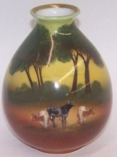 *ROYAL BAYREUTH PORCELAIN VASE