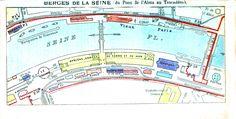 Geopolitical - Map - Europe - Paris  Exposition 1900 Bergers de la Sceine