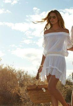 :: white dress ::
