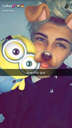 I love Lukas Rieger with minion