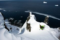 Ralph Backstrom - Freeride en Antarctique