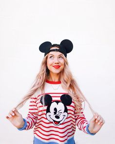 You wonderful thing, you.✨I'm loving this adorable little jumper from the collection. It's amazing how wearing… Walt Disney World, Disney Day, Cute Disney, Disney Style, Disney Trips, Disney Magic, Disneyland Paris, Disneyland Outfits, Disney Outfits