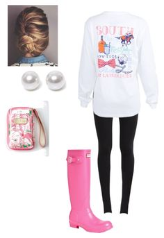 """""""It's my birthday!"""" by laurenvr ❤ liked on Polyvore featuring NIKE, Hunter, Nouv-Elle, Lilly Pulitzer, women's clothing, women, female, woman, misses and juniors"""