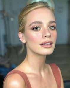 Braut Make-up: 95 Ideen und Tutorials (Fotos und Videos) - Galerie - . - Make-up Makeup Goals, Makeup Tips, Beauty Makeup, Eye Makeup, Hair Beauty, Makeup Ideas, Beauty Tips, Clean Makeup, Freckles Makeup
