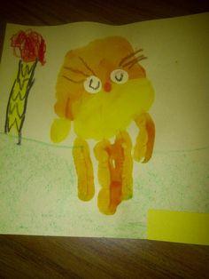 Image result for handprint art of a boy