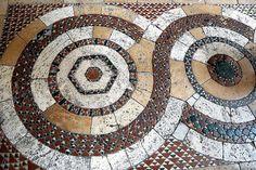 Collegiata di Santa Maria a Lugnano in Teberina, Umbria - pavimento cosmatesco - bruno brunelli