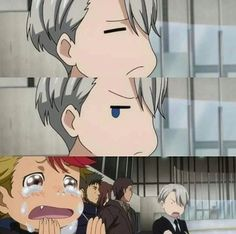 Jealous victor is adorable