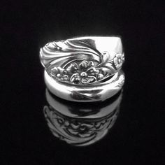 Spoon Ring  Evening Star by MarchelloArt on Etsy, $19.99