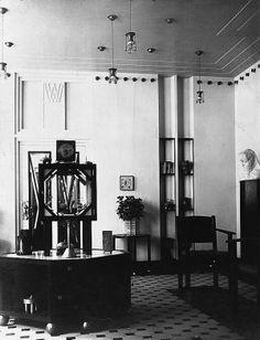 wiener keramik   Wiener Werkstätte: Ausstellungsraum in der Neustiftgasse in Wien 7 ...