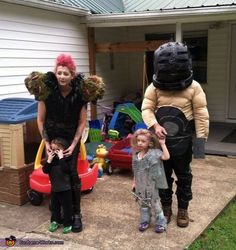 Mad Max Family Costume - 2014 Halloween Costume Contest