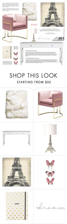 """2016"" by alexandra-provenzano on Polyvore featuring interior, interiors, interior design, home, home decor, interior decorating, H&M, Sasson Home, Renwil and Leftbank Art"