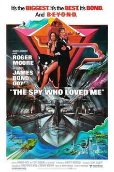 #10, Year: 1977,     Bond: Roger Moore,    Bond Girl: Barbara Bach