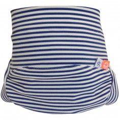 Maillot de bain couche avec absorbant de baignade bleu Régate (4 à 8 kg) - Hamac Paris