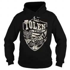 I Love Its a TOLEN Thing (Eagle) - Last Name, Surname T-Shirt Shirts & Tees