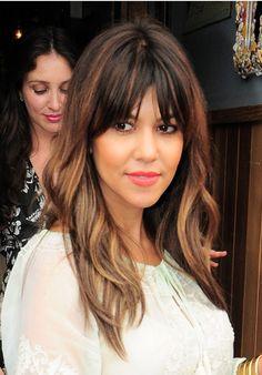 Kourtney Kardashian's Pretty Waves & Plump Peach Lips -- Get The Look
