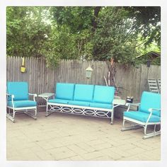 Retro Patio Furniture....donu0027t Ya Just Love It.