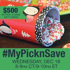 Twitter Party Alert! #MyPicknSave 12/18 9:00 PM ET – RSVP Here! - http://mythoughtsideasandramblings.com/2013/12/09/twitter-party-alert-mypicknsave-1218-900-pm-et-rsvp/
