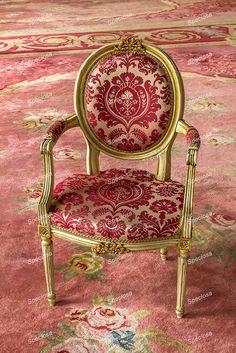 fotografie, barok, klassieke rose fauteuil, stoel, rose, meubel, kunstdruk, meubelstuk, antiek, rose, sfeerfoto, decoratief, Slot Zeist