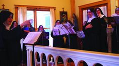 When the sisters of Benedictines of Mary, Queen of the Apostles aren't hard at work on the monastery grounds, they're topping the charts with albums of sacred music. The group's Angels and Saints at Ephesus topped the Billboard classical charts, and now it's releasing its latest, Lent at Ephesus.