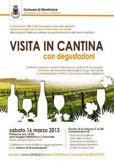 Visita in Cantina con Degustazioni http://www.panesalamina.com/2013/8490-visita-in-cantina-con-degustazioni.html
