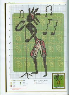 Cross-stitch Music of Africa, part 3