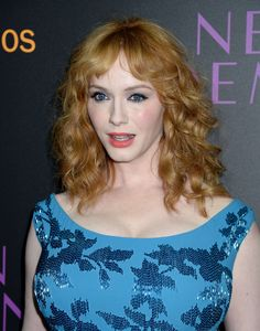Christina Hendricks at the premiere of 'The neon demon' (Directed by Nicolas Winding Refn Costarring with Elle Fanning and Keanu Reeves) in Hollywood, june 2016.
