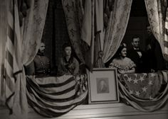 Abraham Lincoln on Ford's Theatre.
