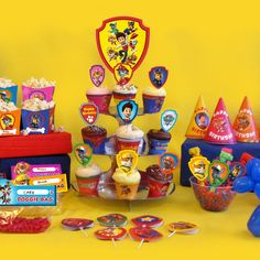 PAW Patrol Party Day Planner