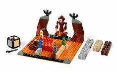 LEGO Games Magma Monster 3847 by LEGO. $9.34. LEGO Games Magma Monster 3847. Be the first to build a path over the stream of molten lava, so you can battle the monster and take the ancient golden treasure. Block your opponents with the monster or wall of fire and slow them down with a clever bat attack. A game of strategy and luck for all ages for 2 to 4 players. 1 buildable LEGO Dice, 4 LEGO microfigures, 90 LEGO pieces, 1 rule booklet, 1 building instruction.