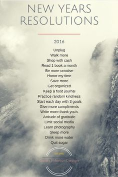 The New Year marks new beginnings. It's a clean slate to start fresh, kick those bad habits to the curb and start habits that benefit your health and well-being.
