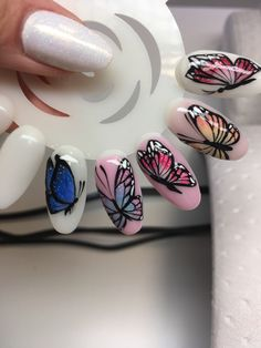 #butterfly #nails
